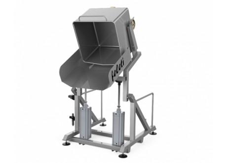 Подъемник универсальный пневматический опрокидывающий ПУВ-О