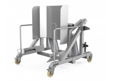 Подъемник универсальный пневматический опрокидывающий ПУВ-О-П (передвижной)
