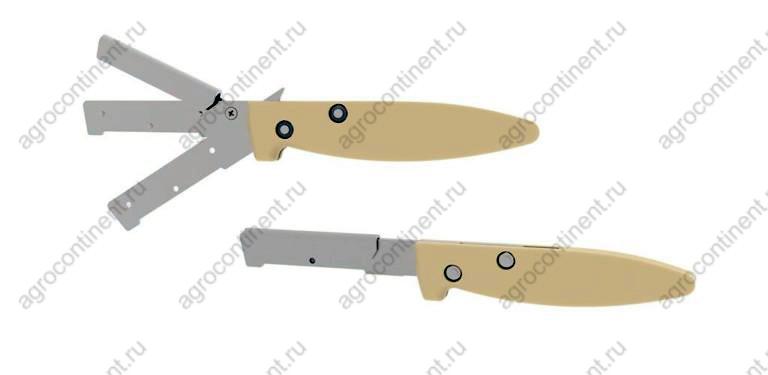 Нож, держатель лезвий для черевы