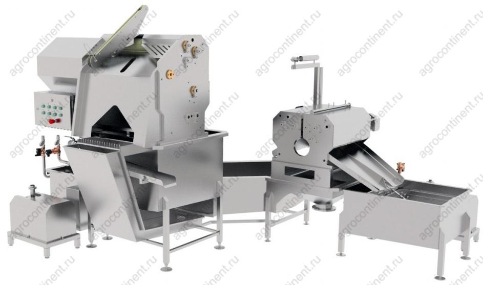 Машина для отжима шляма и обработки черевы BW
